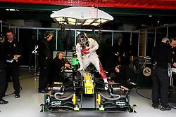 09.03.2011, Circuit de Catalunya, Barcelona, ESP, Formel 1 Test 4 2011,  im Bild Davide Valsecchi (ITA) Team Lotus.   EXPA Pictures © 2011, PhotoCredit: EXPA/ nph/  Poleposition.at       ***** only AUT, SLO ******