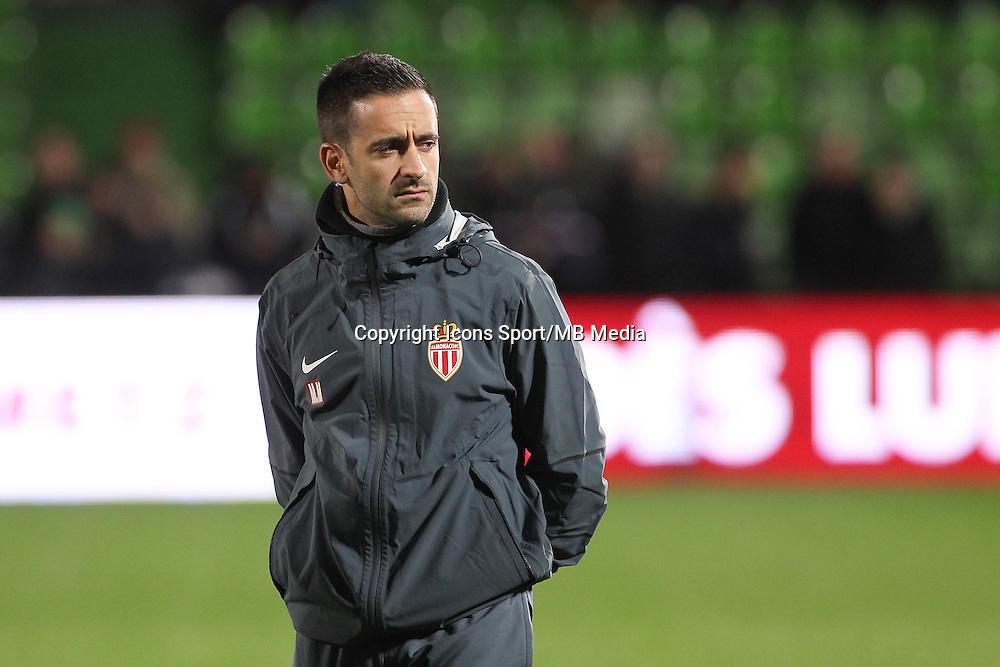 Miguel MOITA - 20.12.2014 - Metz / Monaco - 17e journee Ligue 2<br />Photo : Fred Marvaux / Icon Sport