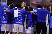 DESCRIZIONE : Brindisi  Lega A 2015-16<br /> Enel Brindisi Pasta Reggia Juve Caserta<br /> GIOCATORE : Enel Brindisi<br /> CATEGORIA : Riscaldamento Before Pregame<br /> SQUADRA : Enel Brindisi<br /> EVENTO : Campionato Lega A 2015-2016<br /> GARA :Enel Brindisi Pasta Reggia Juve Caserta<br /> DATA : 24/04/2016<br /> SPORT : Pallacanestro<br /> AUTORE : Agenzia Ciamillo-Castoria/D.Matera<br /> Galleria : Lega Basket A 2015-2016<br /> Fotonotizia : Brindisi  Lega A 2015-16 Enel Brindisi Pasta Reggia Juve Caserta<br /> Predefinita :