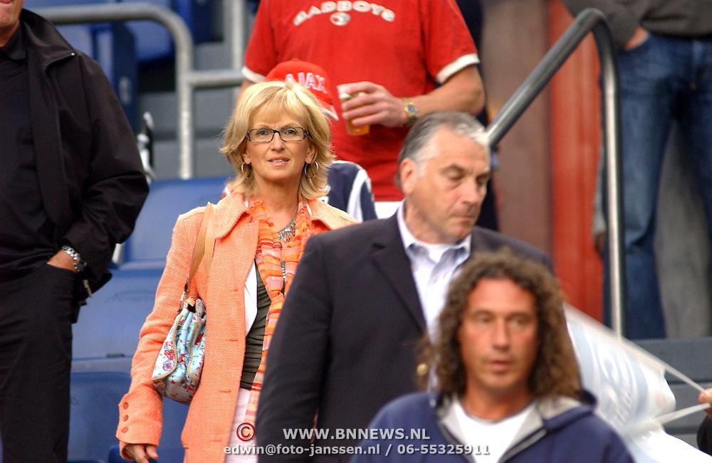 NLD/Amsterdam/20050731 - LG Amsterdam Tournament 2005, Mario van der Ende en partner Els