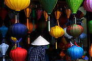 Vietnam: Hoi An<br /> Originally colonised by Chinese merchants, this traditional Vietnamese fishing community largely escaped damage during both the American and French Wars.Now protected by UNESCO, much of the original architecture remains in tact, providing a timeless reminder of the traditions of Vietnam.<br /> <br /> Chinse lanterns for sale, hand crafted from silk.