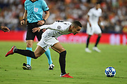 Rodrigo of Valencia CF during the UEFA Champions League, Group H football match between Valencia CF and Juventus FC on September 19, 2018 at Mestalla stadium in Valencia, Spain - Photo Manuel Blondeau / AOP Press / ProSportsImages / DPPI