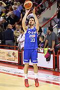 DESCRIZIONE : Campionato 2015/16 Giorgio Tesi Group Pistoia - Enel Brindisi<br /> GIOCATORE : Marzaioli Domenico <br /> CATEGORIA : Tiro Riscaldamento Before Pregame<br /> SQUADRA : Enel Brindisi<br /> EVENTO : LegaBasket Serie A Beko 2015/2016<br /> GARA : Giorgio Tesi Group Pistoia - Enel Brindisi<br /> DATA : 04/10/2015<br /> SPORT : Pallacanestro <br /> AUTORE : Agenzia Ciamillo-Castoria/S.D'Errico<br /> Galleria : LegaBasket Serie A Beko 2015/2016<br /> Fotonotizia : Campionato 2015/16 Giorgio Tesi Group Pistoia - Enel Brindisi<br /> Predefinita :