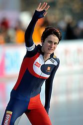 08-01-2012 SCHAATSEN: EC ALLROUND: BUDAPEST<br /> 3000 meter women / Europees kampioen Martina Sablikova CZE <br /> ©2012-FotoHoogendoorn.nl