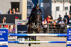 Marziani Luca, ITA, Tokyo du Soleil<br /> European Championship Jumping<br /> Rotterdam 2019<br /> © Dirk Caremans<br /> Marziani Luca, ITA, Tokyo du Soleil