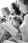 "Naked Girls Reading is ""a group of beautiful ladies who love to read... naked."""