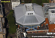 aerial photograph of   Preston Guildhall Preston  Lancashire , England UK