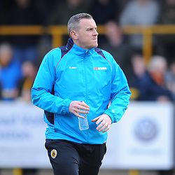 TELFORD COPYRIGHT MIKE SHERIDAN 2/3/2019 - Craig Elliott during the National League North fixture between Boston United and AFC Telford United at the York Street Jakemans Stadium