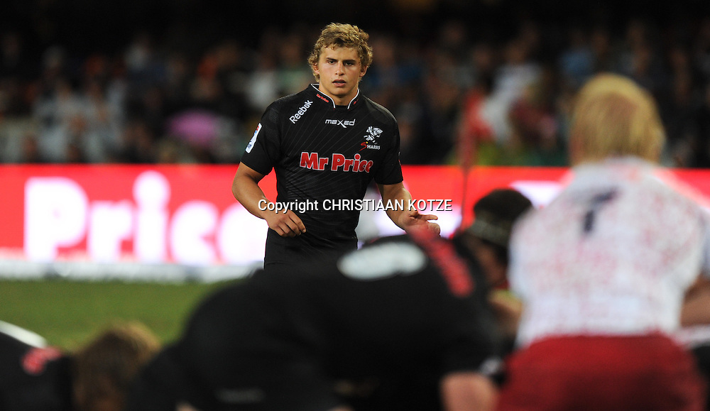 Patrick Lambie of the Mr Price Sharks<br /> &copy;Backpagepix