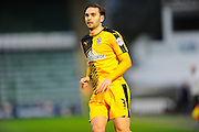 Cambridge Utd's Greg Taylor during the Sky Bet League 2 match between Plymouth Argyle and Cambridge United at Home Park, Plymouth, England on 12 December 2015. Photo by Graham Hunt.