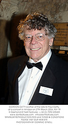 GORDON GETTY brother of the late Sir Paul Getty, at a concert in Windsor on 27th March 2004.PSY 79