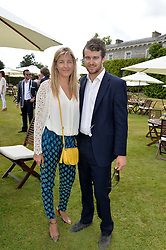 CAROLINE RUPERT and HICKMAN BACON at the Cartier hosted Style et Lux at The Goodwood Festival of Speed at Goodwood House, West Sussex on 29th June 2014.