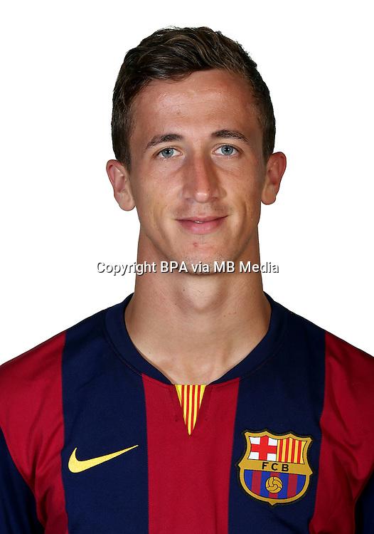 Spain - La Liga Adelante 2014-2015 / <br /> ( F.C. Barcelona &quot; B &quot; )<br /> Juan Camara Mesa
