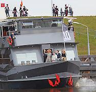 Den Bosch, 05-03-2015<br /> <br /> <br /> Queen Maxima opened the Maxima Channel.<br /> <br /> <br /> Photo: Bernard Ruebsamen/Royalportraits Europe