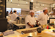 Manhattan, NY. The Lobster Place features  in-store sushi chefs. 10102013. Photo by Tanisia Morris/NYCity Photo Wire.