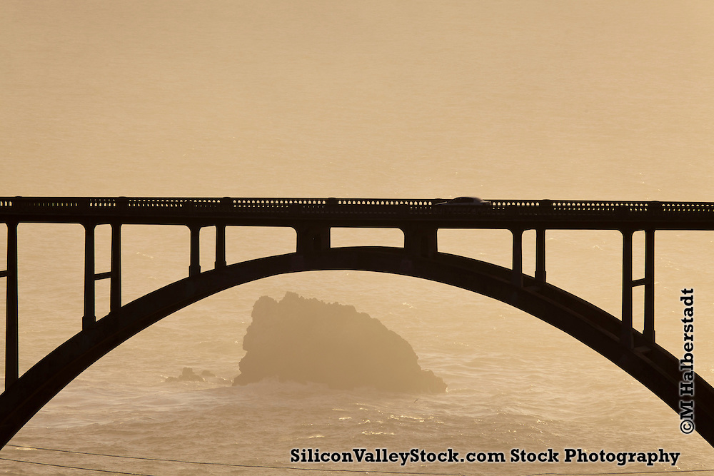 Bixby Bridge, Big Sur, Monterey County, California