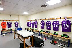 Bristol City dressing room at The Hawthorns - Mandatory by-line: Robbie Stephenson/JMP - 18/09/2018 - FOOTBALL - The Hawthorns - West Bromwich, England - West Bromwich Albion v Bristol City - Sky Bet Championship