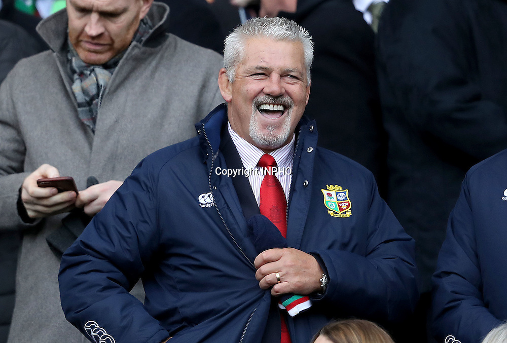 RBS 6 Nations Championship Round 1, BT Murrayfield, Scotland 4/2/2017<br /> Scotland vs Ireland<br /> British &amp; Irish Lions head coach Warren Gatland at the game<br /> Mandatory Credit &copy;INPHO/Dan Sheridan