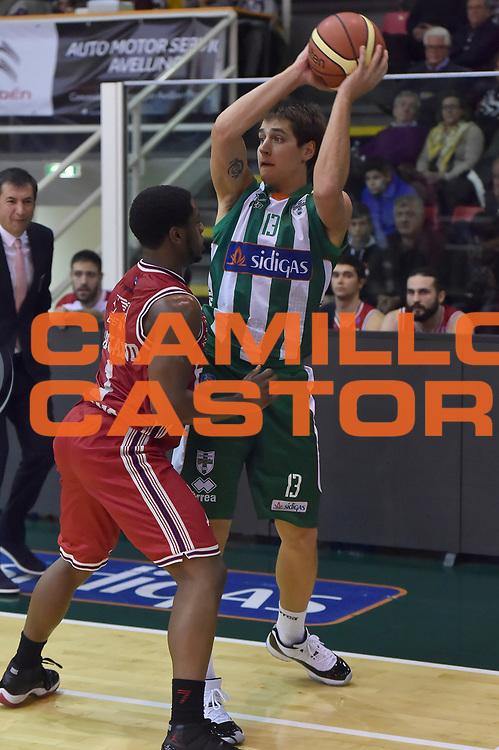 DESCRIZIONE : Avellino Lega A 2014-2015 Sidigas Avellino EA7 Emporio Armani Milano<br /> GIOCATORE : Riccardo Cortese<br /> CATEGORIA : passaggio<br /> SQUADRA : Sidigas Avellino<br /> EVENTO : Campionato Lega A 2014-2015<br /> GARA : Sidigas Avellino EA7 Emporio Armani Milano<br /> DATA : 03/11/2014<br /> SPORT : Pallacanestro<br /> AUTORE : Agenzia Ciamillo-Castoria/GiulioCiamillo<br /> GALLERIA : Lega Basket A 2014-2015<br /> FOTONOTIZIA : Avellino Lega A 2014-2015 Sidigas Avellino EA7 Emporio Armani Milano<br /> PREDEFINITA :