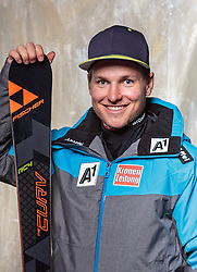08.10.2016, Olympia Eisstadion, Innsbruck, AUT, OeSV Einkleidung Winterkollektion, Portraits 2016, im Bild Richard Leitgeb, Ski Alpin, Herren // during the Outfitting of the Ski Austria Winter Collection and official Portrait Photoshooting at the Olympia Eisstadion in Innsbruck, Austria on 2016/10/08. EXPA Pictures © 2016, PhotoCredit: EXPA/ JFK