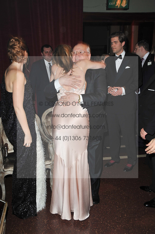 SHARON STONE and MIKHAIL GORBACHEV at a gala eveing to celebrate the 80th birthday of former Soviet leader Mikhail Gorbachev held at The Royal Albert Hall, London on 30th March 2011.