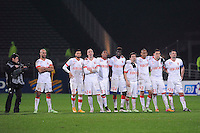 EQUIPE DE MONACO  - 17.12.2014 - Lyon / Monaco - Coupe de la ligue -<br /> Photo : Jean Paul Thomas / Icon Sport