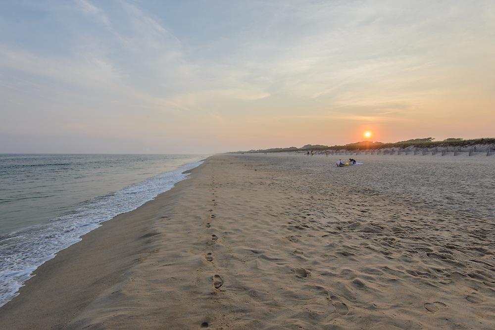 Sunset, Two Mile Hollow Beach, East Hampton, NY, Long Island