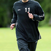 St Johnstone training...12.07.04<br />Paul Bernard<br /><br />Picture by Graeme Hart.<br />Copyright Perthshire Picture Agency<br />Tel: 01738 623350  Mobile: 07990 594431