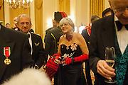 VASCO LANCASTER; MRS. PAULA BOBONE, THE ST PETERSBURG BALL in aid of the Children's Burns Trust. Landmark Hotel. London. 2 February 2013