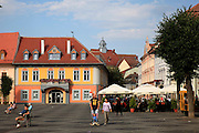 Mare square, Sibiu, Transylvania, Romania