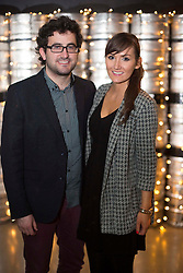 Repro Free: 14/03/2014 Patrick Kavanagh and Fiona Nialan pictured at the Guinness Storehouse St. Patrick's Festival. The four day festival is showcasing some of Ireland's best music, food and rugby over the weekend including an intimate performance by acclaimed rock band The Coronas. Enjoy GUINNESS sensibly. Visit drinkaware.ie Pic Andres Poveda