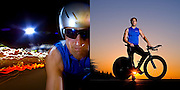 02 21 2008 - Derek McGarvey rides his bike along Ulmerton Rd.<br /> <br /> BRIAN CASSELLA