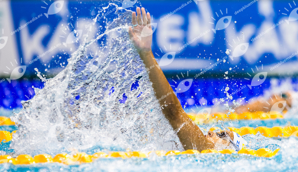 ZEVINA Daryna UKR<br /> 200m Bachstroke Women Heats<br /> 32nd LEN European Championships <br /> Berlin, Germany 2014  Aug.13 th - Aug. 24 th<br /> Day06 - Aug. 18<br /> Photo G. Scala/Deepbluemedia/Inside