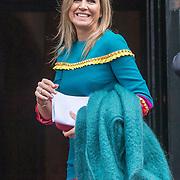 NLD/Amsterdam/20191128 - Koning Willem-Alexander reikt Erasmusprijs 2019 uit, Koningin Maxima