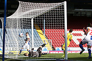 Goal 3-0 Blackburn Rovers forward Adam Armstrong (7) scores a goal 3-0 during the EFL Sky Bet Championship match between Blackburn Rovers and Wycombe Wanderers at Ewood Park, Blackburn, England on 19 September 2020.