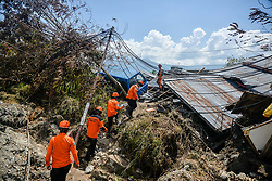 October 2, 2018 - Palu, Indonesia - Debris of houses in Petobo village in Sigi district of Central Sulawesi after the deadly earth quake and tsunami in Central Sulawesi, Indonesia. Over 1,234 people were killed in Palu, Donggala district, Parigi Mountong district and North Mamuju district, according to the Disaster Management Institute of Indonesia, Care for Humanity and the Humanity Data Center. (Credit Image: © Iqbal Lubis/Xinhua via ZUMA Wire)