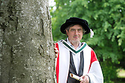 29/06/2012 .At the Honorary Confering ceremony in NUIG Playwright and Novelist Sebastian Barry who was conferred a degree of Doctor of Literature from NUIG.Photo:Andrew Downes. .