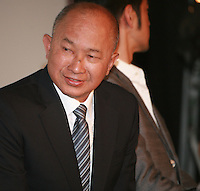 Director John Woo at Press Conference for John Woo's forthcoming film The Crossing, Saturday 17th May 2014, Cannes, France.