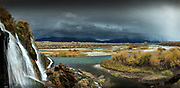 Falls Creek and the Snake River