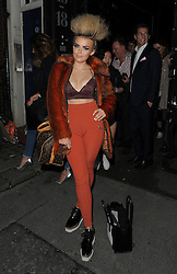 Tallia Storm attends LFW s/s 2016: PPQ  catwalk show at The Vinyl Factory during London Fashion Week. London, UK. 18/09/2015<br />BYLINE MUST READ : GOTCHAIMAGES.COM<br /><br />Copyright by © Gotcha Images Ltd. All rights reserved.<br />Usage of this image is conditional upon the acceptance <br />of Gotcha Images Ltd, terms and conditions available at<br />www.gotchaimages.com