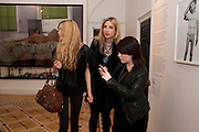 RHIANA REES; AMANDA NELSON; CLAIRE BRISTAN, Dazed & Confused 20th Anniversary Exhibition. Somerset House. London. 3 November 2011<br /> <br />  , -DO NOT ARCHIVE-© Copyright Photograph by Dafydd Jones. 248 Clapham Rd. London SW9 0PZ. Tel 0207 820 0771. www.dafjones.com.