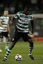 October 22, 2017 - Lisbon, Portugal - Sporting's midfielder William Carvalho in action  during Primeira Liga 2017/18 match between Sporting CP vs GD Chaves, in Lisbon, on October 22, 2017. (Credit Image: © Carlos Palma/NurPhoto via ZUMA Press)
