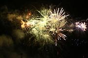 Mannheim. 29.07.17 | ID 057 |<br /> Maimarktgel&auml;nde. Pyrogames. Feuerwerker in vier Teams z&uuml;nden ihre Feuerwerkchoreografien ab und lassen sich vom Publikum bewerten. <br /> <br /> Bild: Markus Pro&szlig;witz 29JUL17 / masterpress