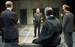 Douglas Henshall as Cromwell for 55 Days by Howard Brenton at The Hampstead Theatre, London, Great Britain, October 22, 2012. Photo by Elliot Franks / i-Images.