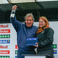 Presentation to Track Suit Dave on behalf of the owners<br /> The 32Red Casino Claiming Stakes<br /> Lingfield Park<br /> 17/2/16.<br /> ©Cranhamphoto.com