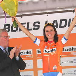 29-08-2017: Wielrennen: Boels Ladies Tour: Wageningen; Annemiek van Vleuten is de eerste leidster in de Boels Ladies Tour 2017