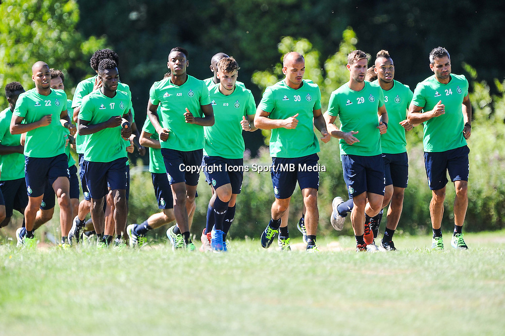Groupe Saint Etienne - 30.06.2015 - Reprise Entrainement Saint Etienne - 2015/2016<br /> Photo : Jean Paul Thomas / Icon Sport