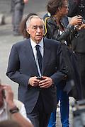 2013/05/07 Roma, funerali di Giulio Andreotti. Nella foto Franco Carraro..Rome, funerals of Giulio Andreotti. In the picture Franco Carraro - © PIERPAOLO SCAVUZZO