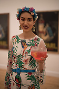 ANA DE JESUS,  , Private view for the Art of Campari, The Estorick Collection,  Islington. London. 3 July 2018