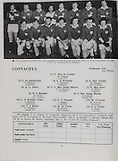 Railway Cup and All Ireland Club Finals Programme.Croke Park.17.03.1974 Gaelic footbal - Leinster v Connaght.18.03.1974 Hurling - Munster v Leinster